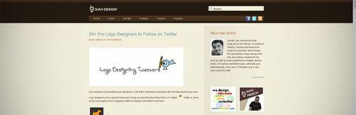 Siah Design Pro Logo Designers to follow on Twitter