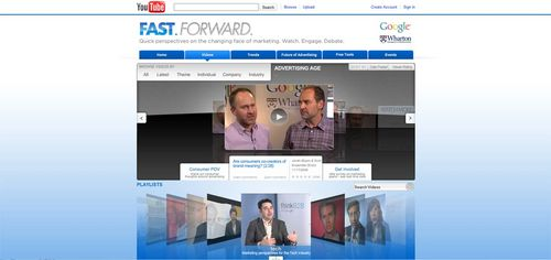 FastForward on YouTube
