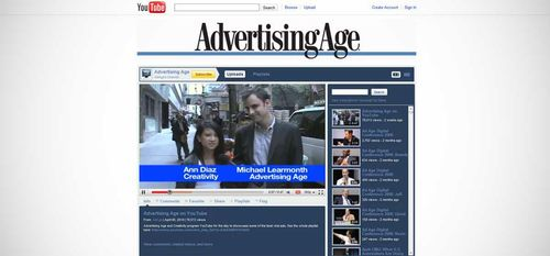 AdAge on YouTube