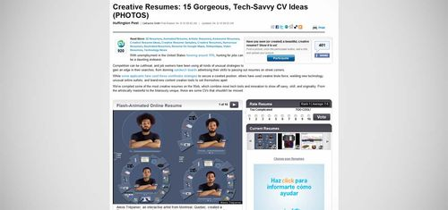 HuffingtonPost_Creative_Resumes