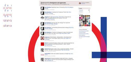 300 Twitter Design Advertising Interactive Agencies
